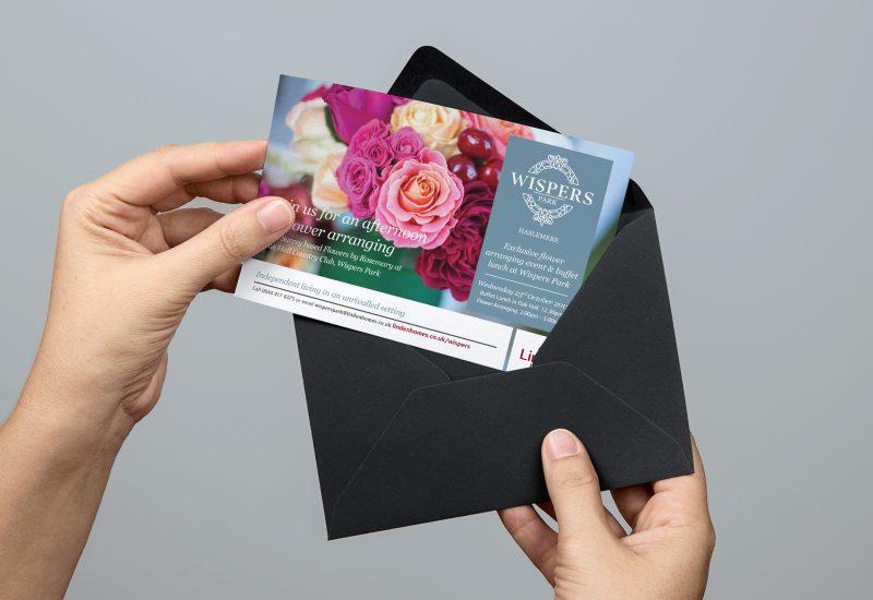 Linden_Homes_Flower_Invitation | web design southampton