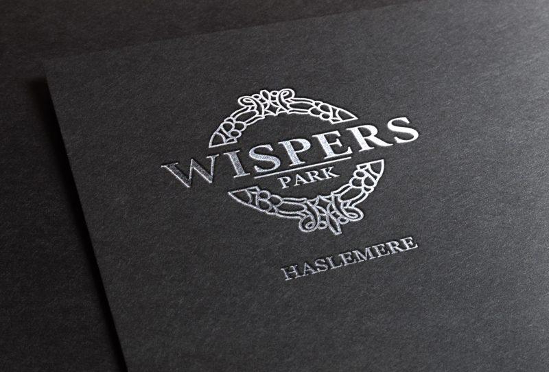 Foiled Wispers Logo | web design hampshire