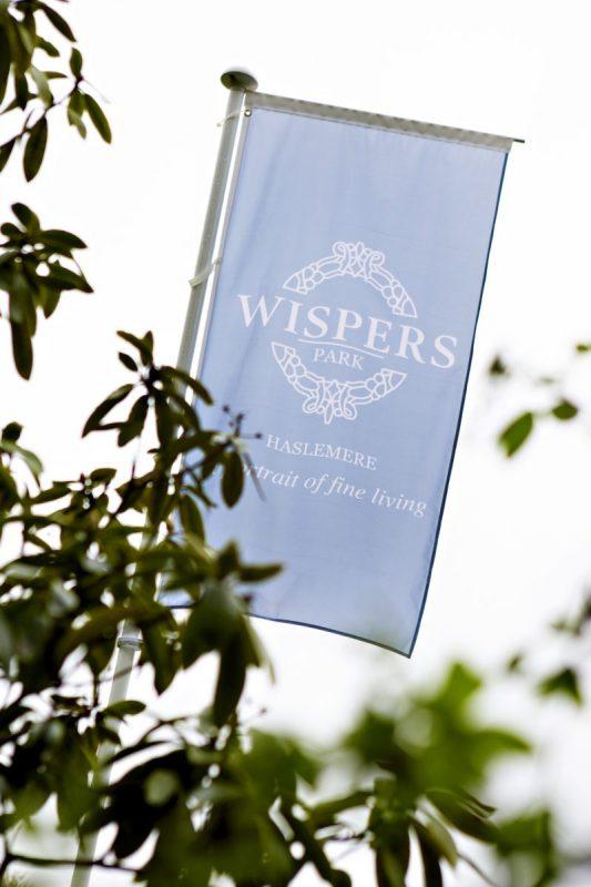 Wispers Park_Flag | web design hampshire