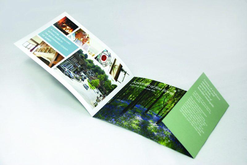 Wispers Park leaflet | web design hampshire