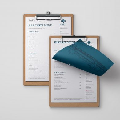 Mercer_Menu | web design portsmouth