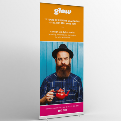 Glow_Pull_Up_Banner | web design portsmouth