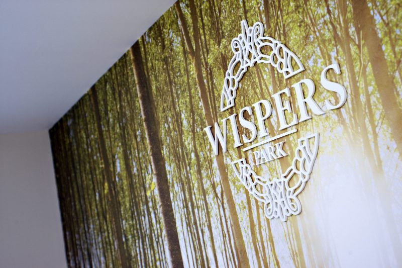 Whisper Park Logo | web design hampshire