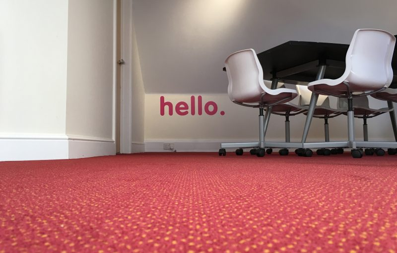 Glow Meeting Room | web design southampton