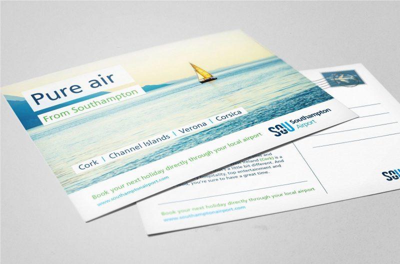 Postcard design | web design southampton