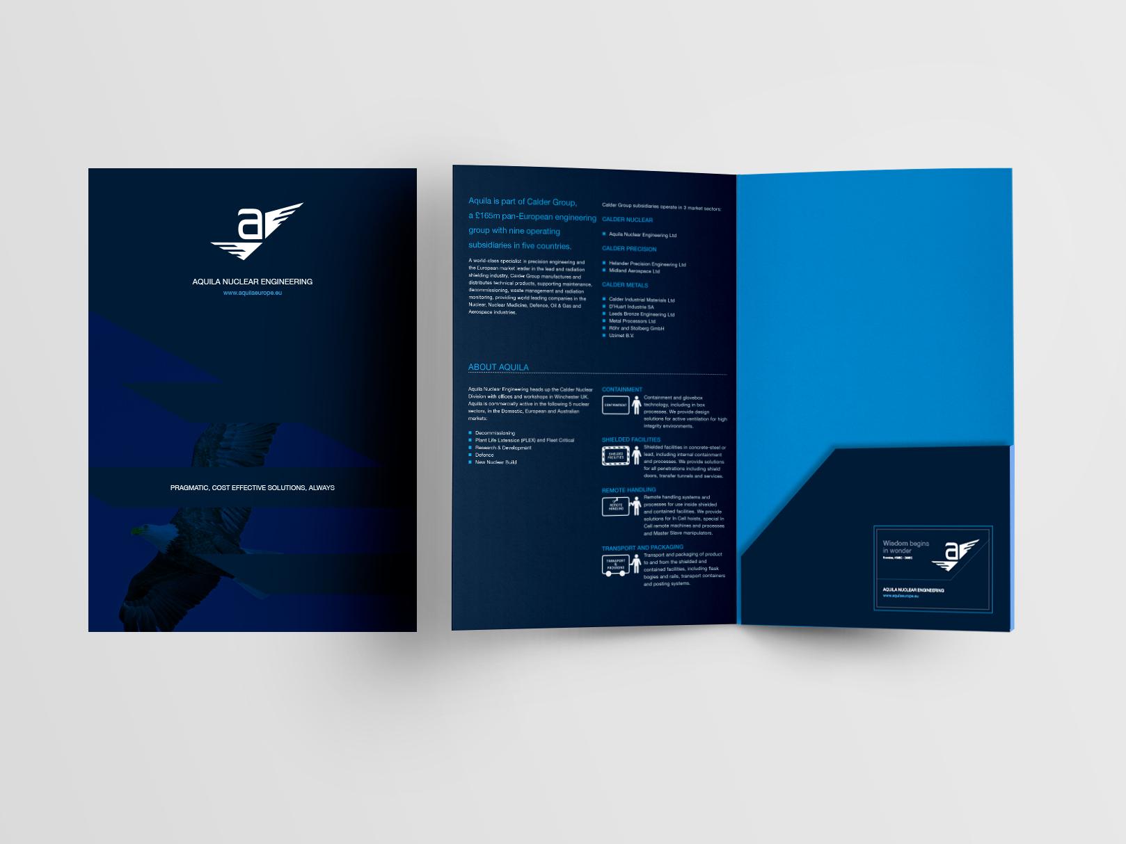 Aquila Brochure Folder
