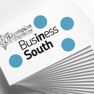 Business South 10 years a champion