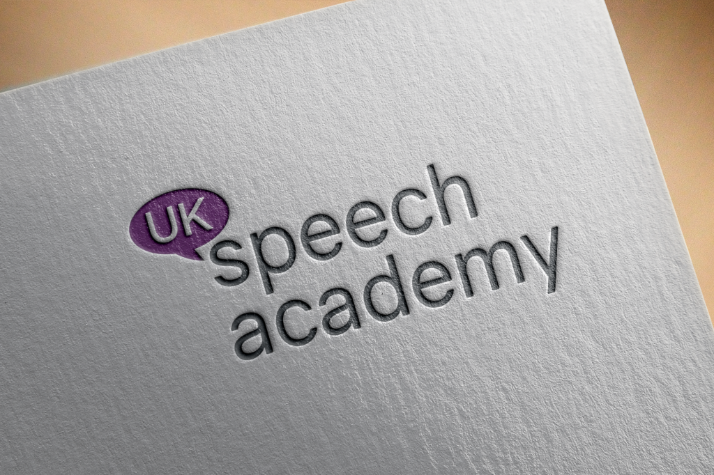 Speech Academy Logo: Branding Project