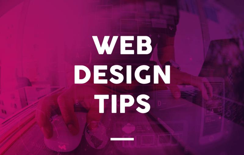 Web Design Tips
