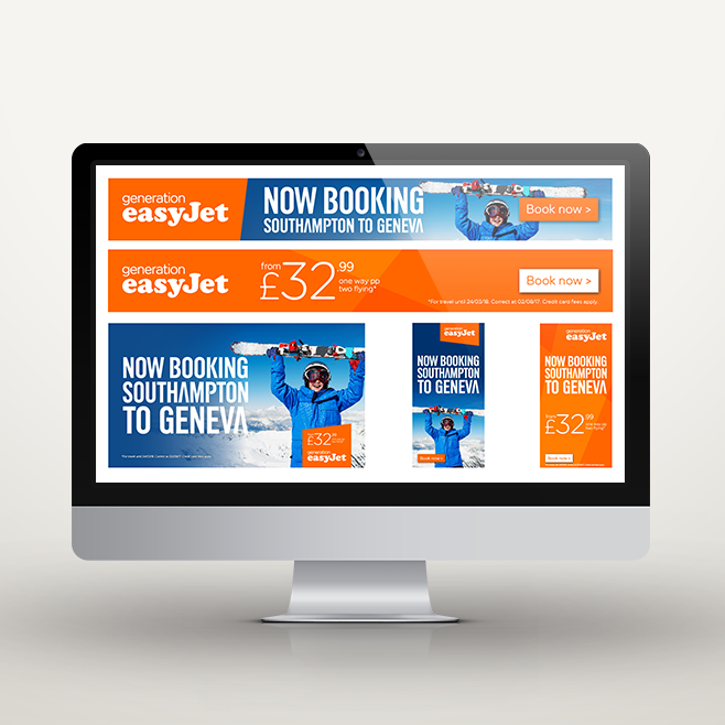 In the studio this week: easyJet campaign