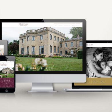 Hill Place Website Design
