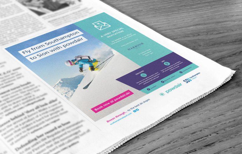 powdair advert ski
