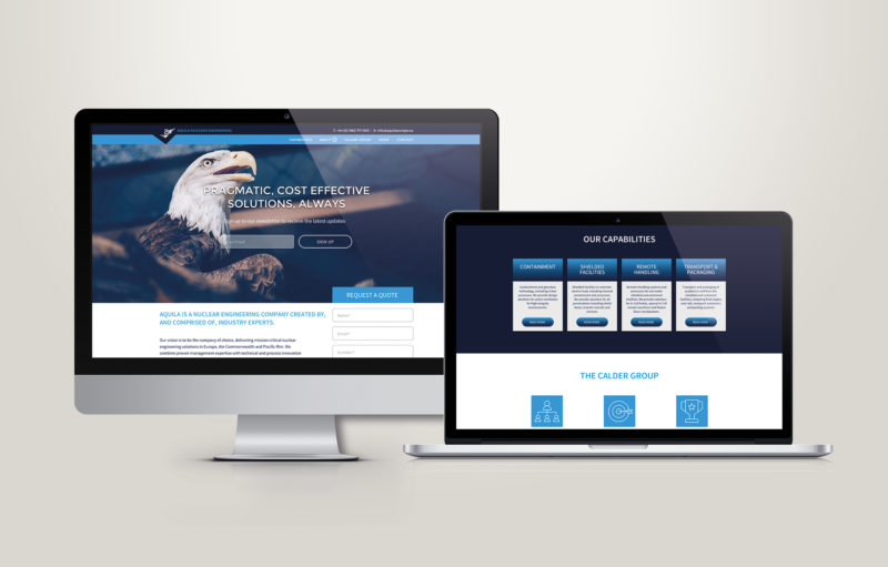 Aquila Website Image - The eagle has landed