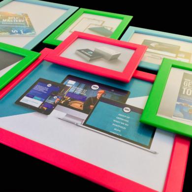 Office refresh showcasing our new portfolio work