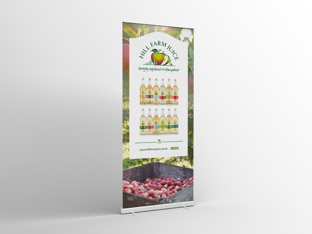 Hill Farm Juice Banner