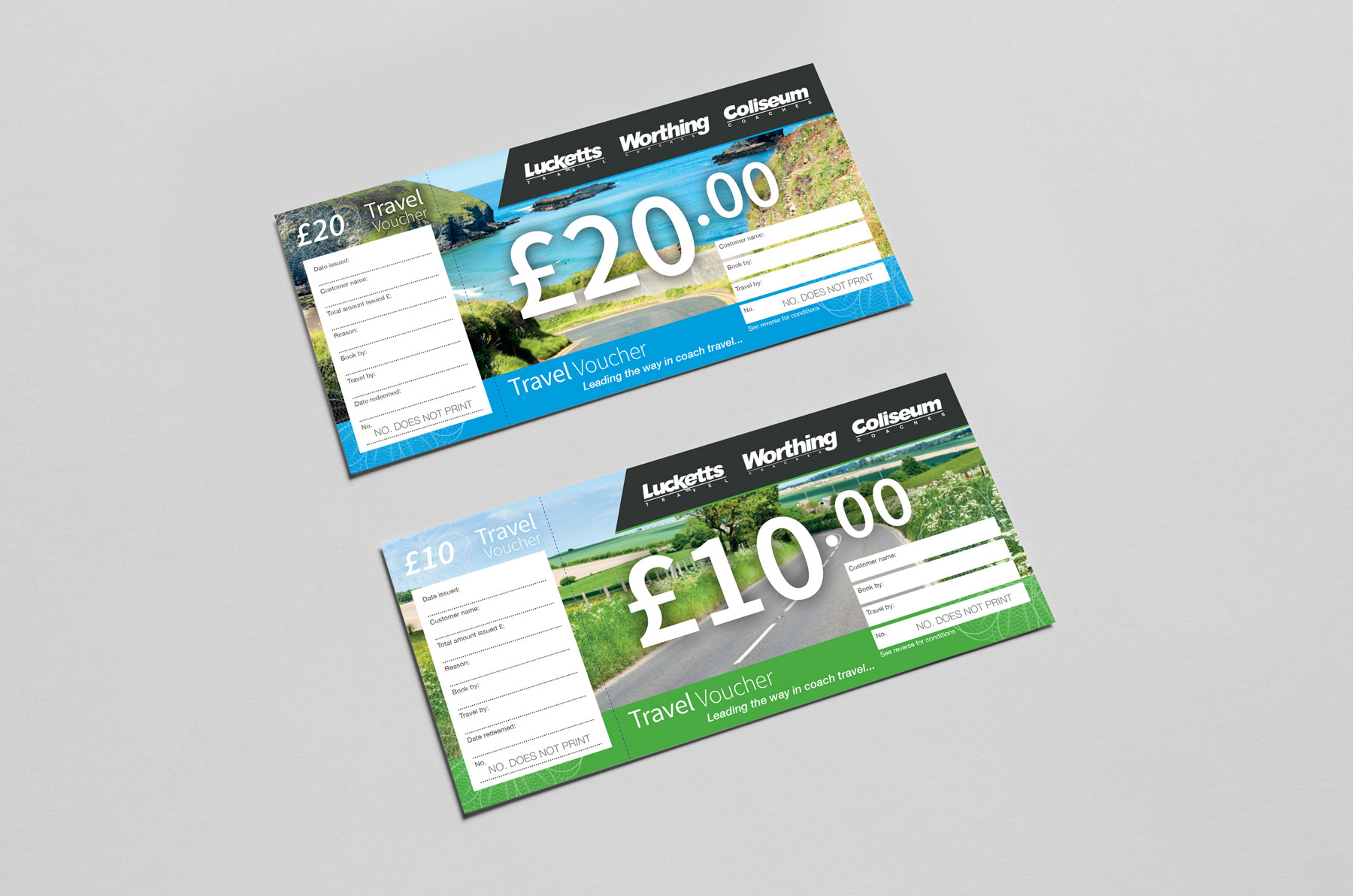 Lucketts Travel Vouchers