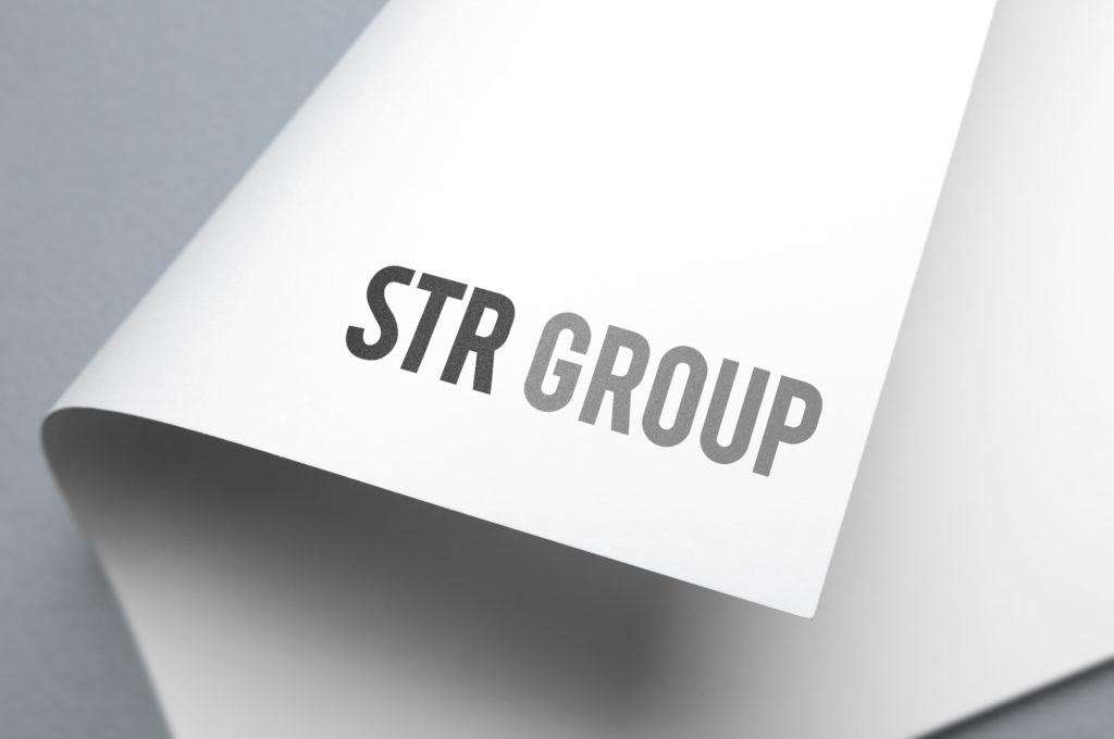 STR Group Brand Logo design Branding