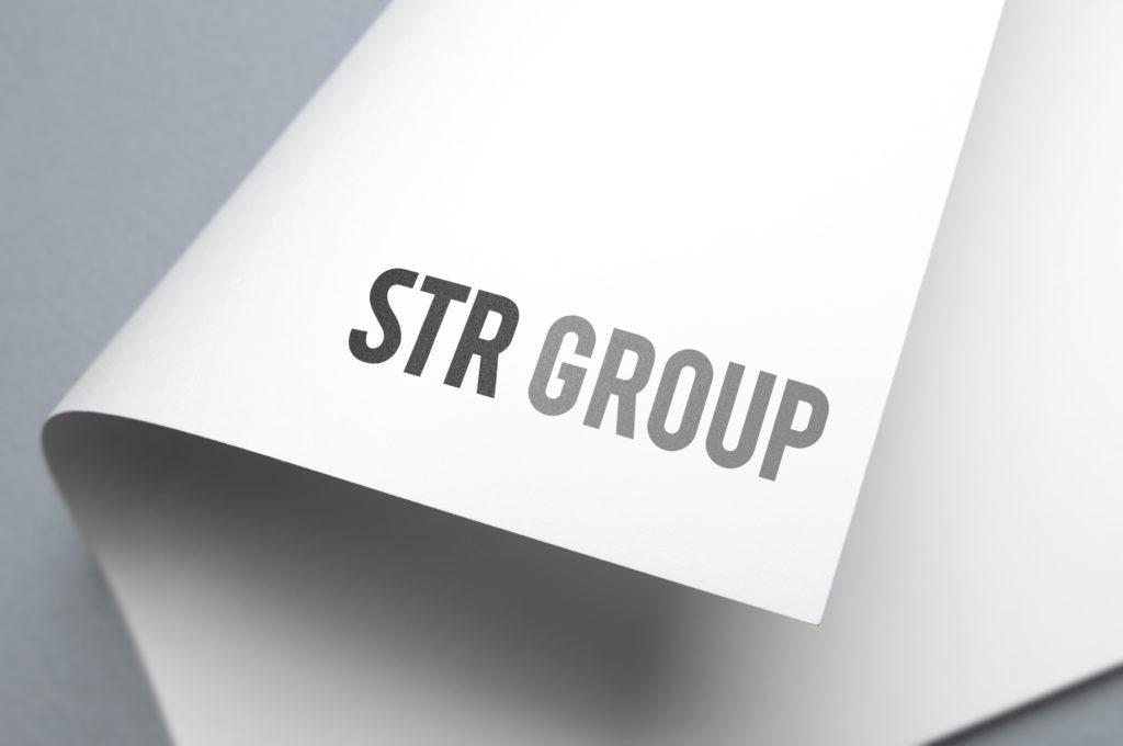 STR Group Brand Logo design Branding | STR Group Brands