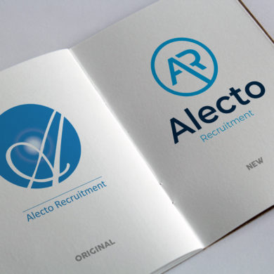 Alecto Logo Comparison New brand
