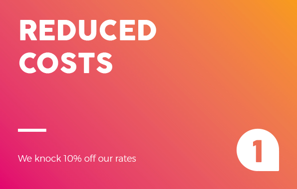 Reduced costs 4 Hot Reasons Why PAYG Pays