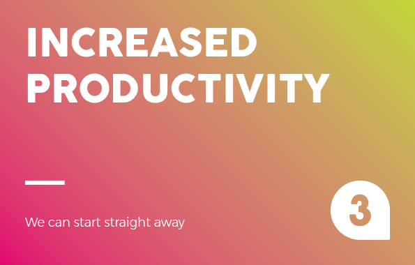 Increased productivity 4 Hot Reasons Why PAYG Pays