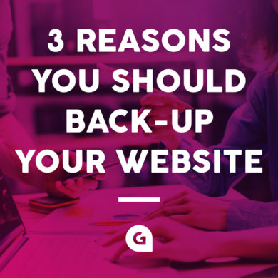 3 reasons why you should back up your website
