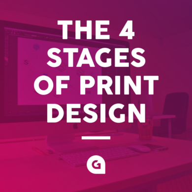 The Four Stages of Print Design