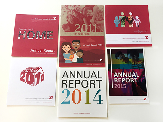 PHA Homes Annual Reports Portfolio Work