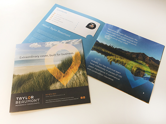 Taylor Beaumont Brochure Portfolio Work