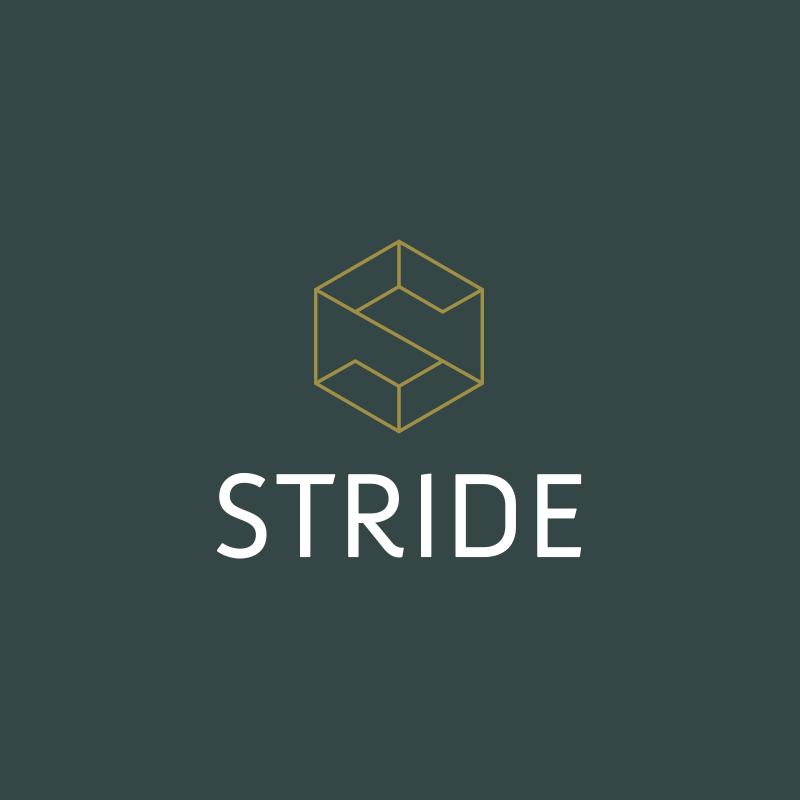 Stride Logo Brand