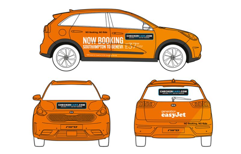 easyJet Taxi_Wrap_Graphics