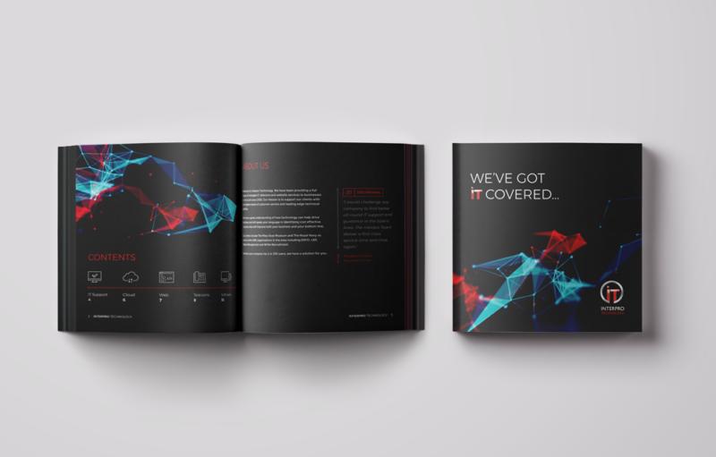 Brochure design for Interpro Technology