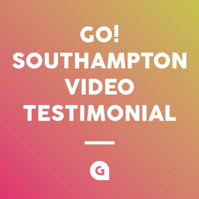 Go! Southampton Video Testimonial