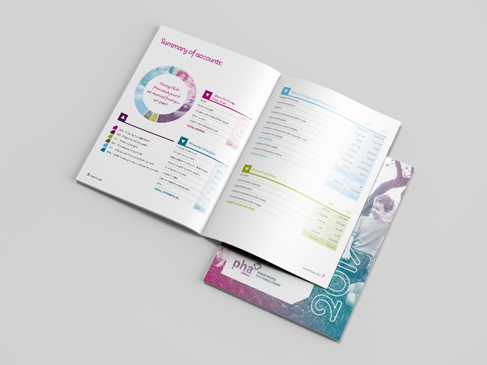 PHA Annual Report Design