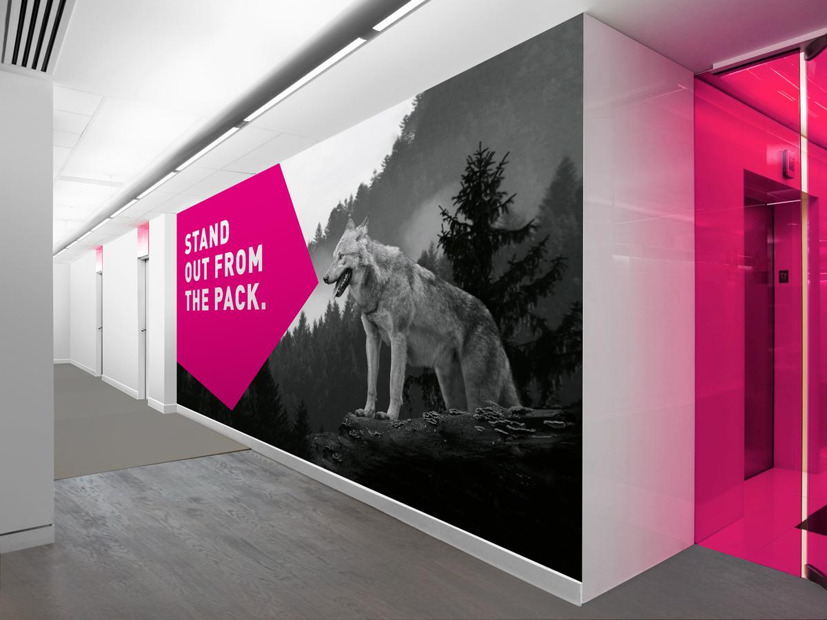 STR Office Styling Wall Wolf