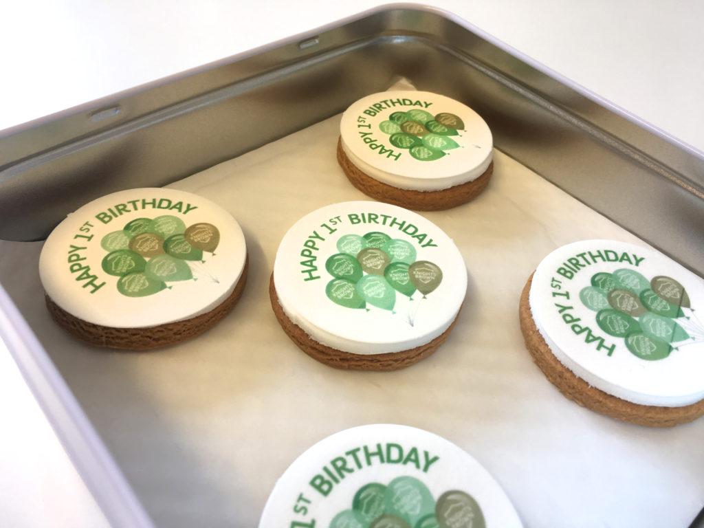 Knights Brown's Rebrand Birthday