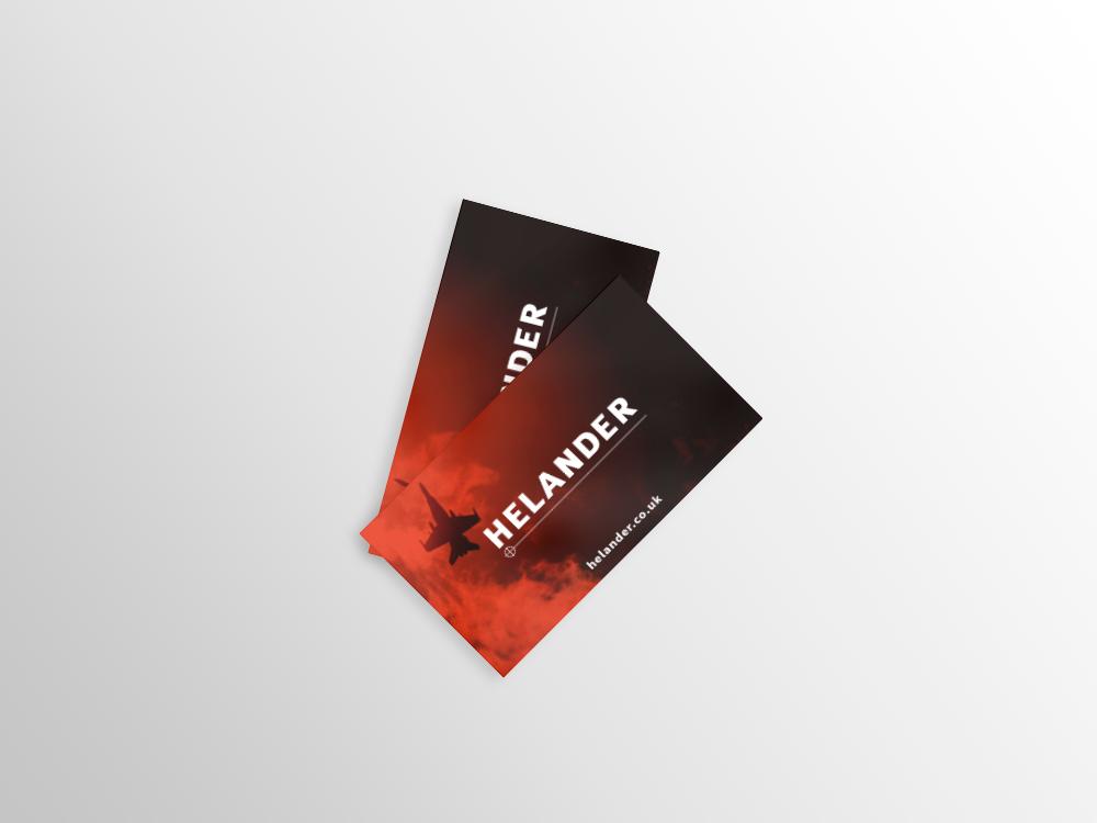 Helander Business Cards