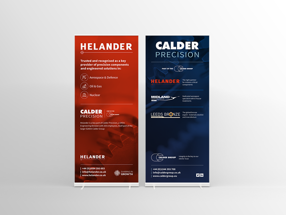 Helander Exhibition Graphics
