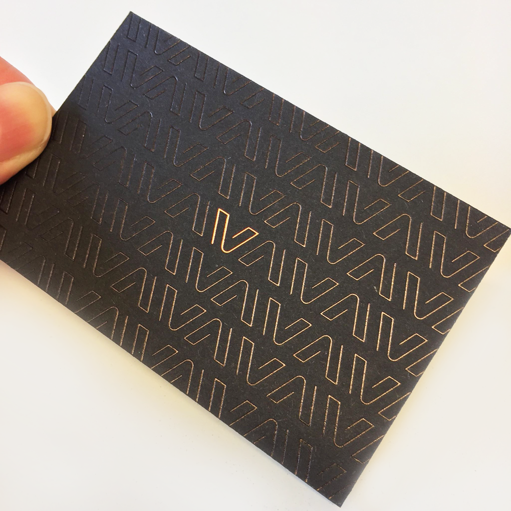 Spot UV and Foil Print