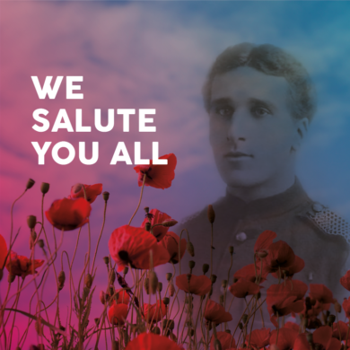 100 years on from World War One