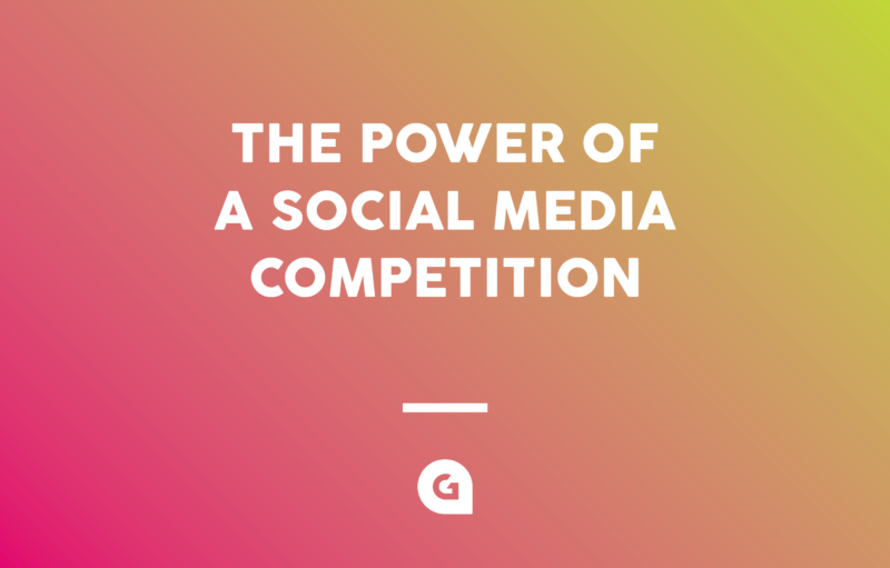 The Power of a Social Media Competition