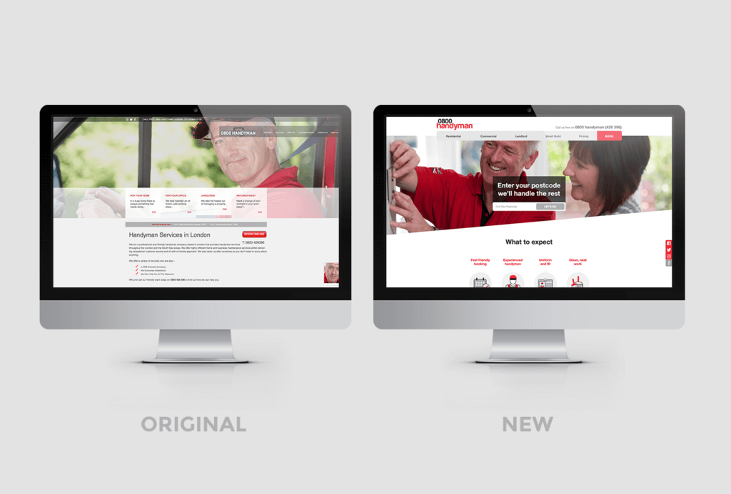 New 0800 Handyman Website