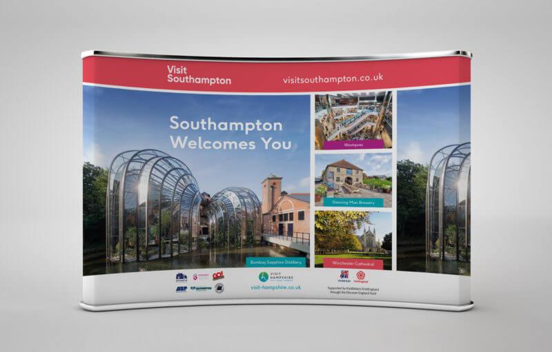 Southampton City Council Exhibition banner design