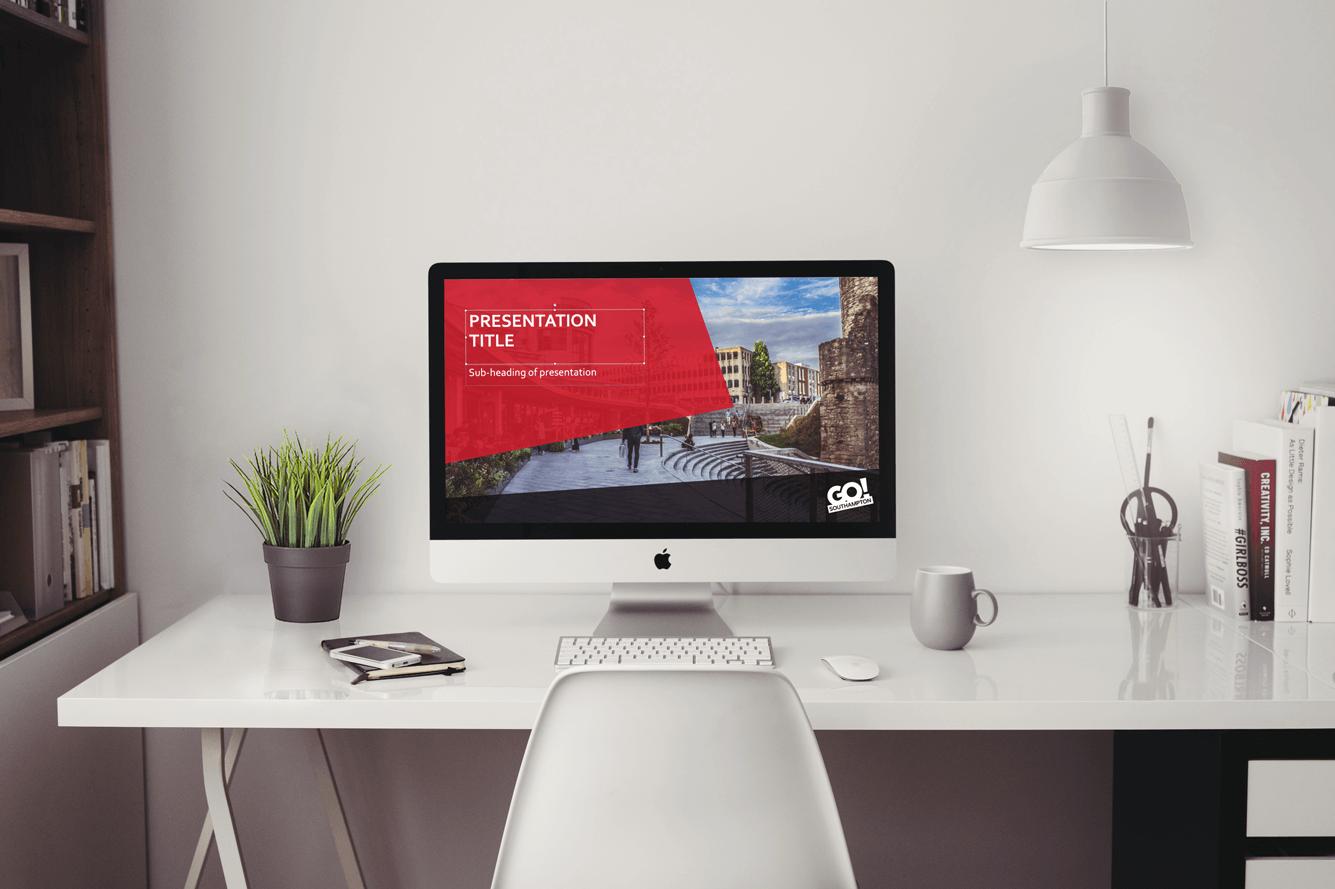 Go! Southampton PowerPoint Presentation Design