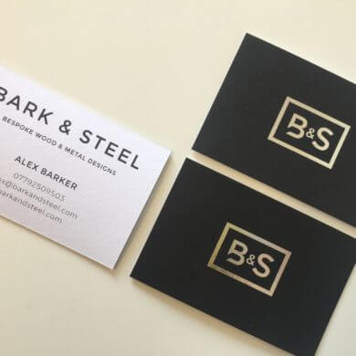 Bark and Steel Logo