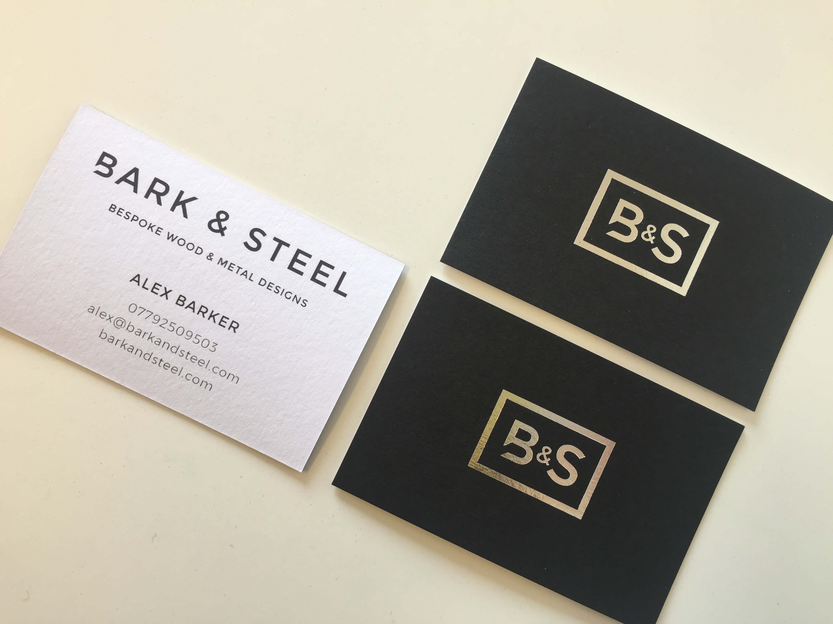 Bark and Steel Logo