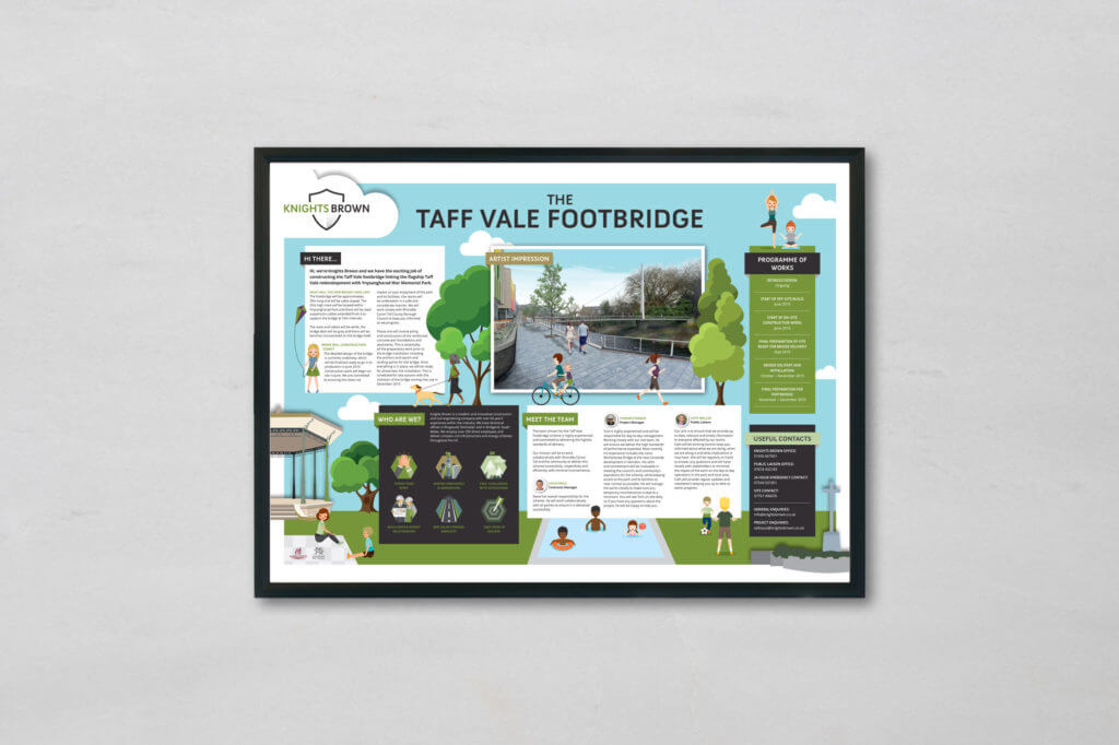 Knights Brown Taff Vale Noticeboard