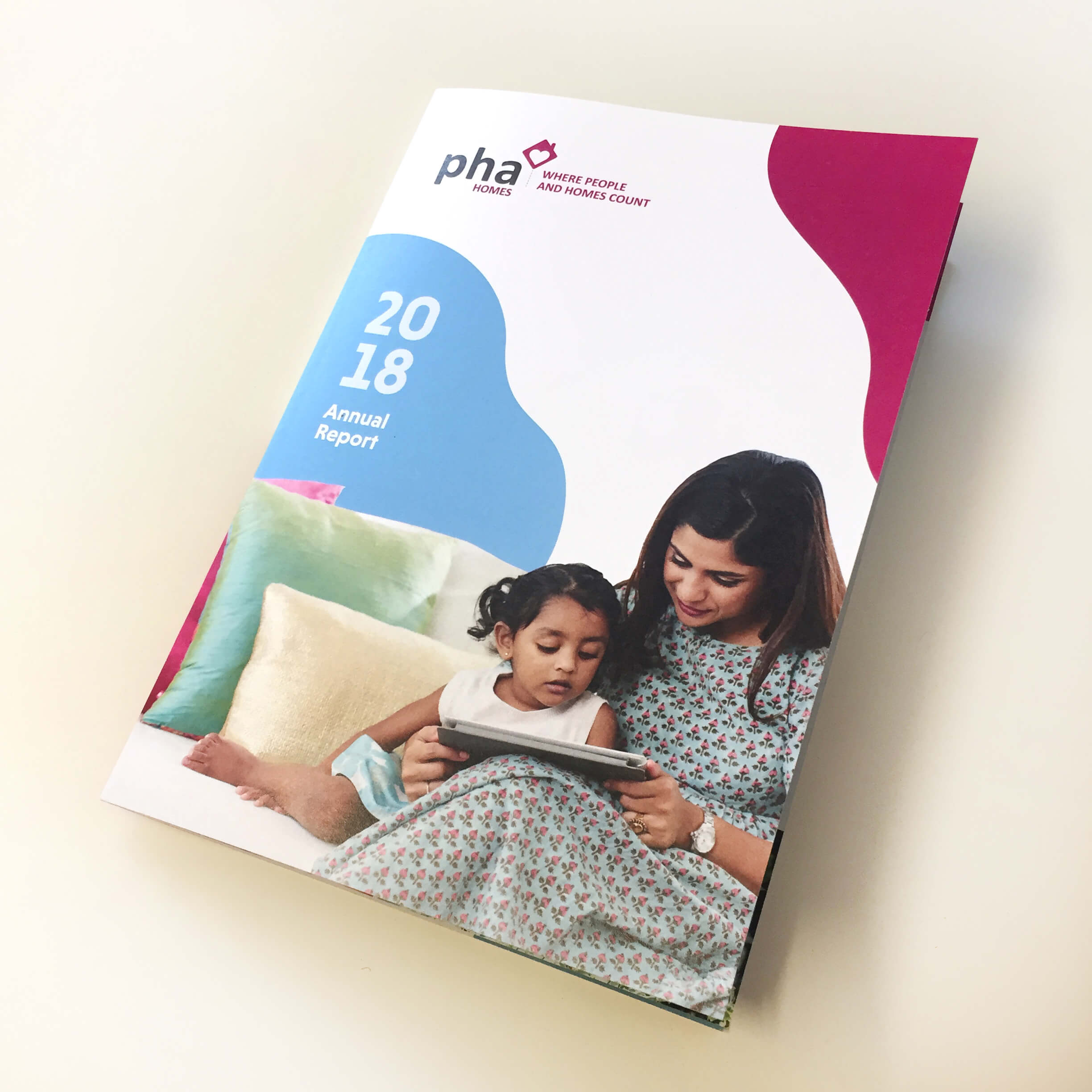 PHA Homes Annual Report Cover