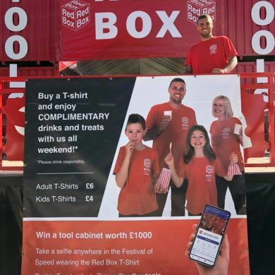 Red Box Banner
