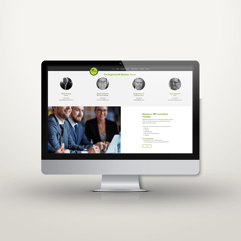 Segensworth Business Forum new website